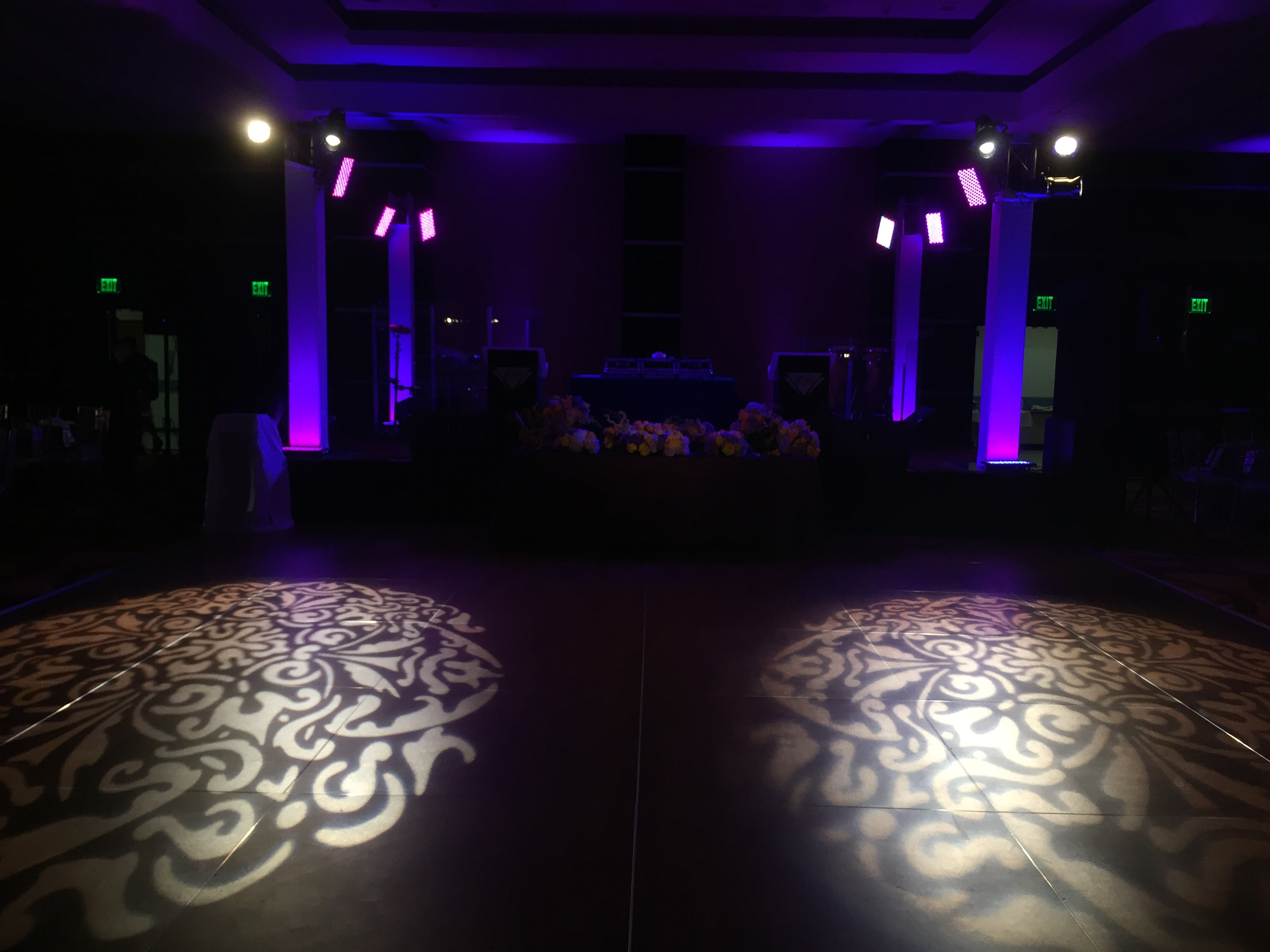 fantasy copy chandeliers gobo event r a dannydong difference the light washes sound uplights and services lights monogram custom
